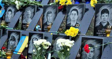 Ukrayna, 21 Kasım'da Onur ve Özgürlük Günü'nü kutluyor
