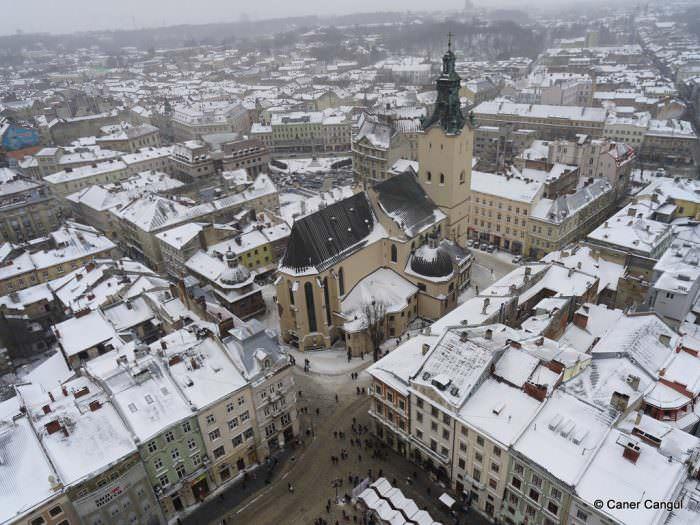Lviv Kış Fotoğrafı