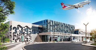 Zaporoje havaalanı 22 Ekim'de çalışmaya başlayacak