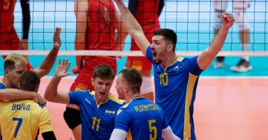 Ukrayna milli takımı Avrupa Voleybol Şampiyonasında ikinci zaferini kazandı