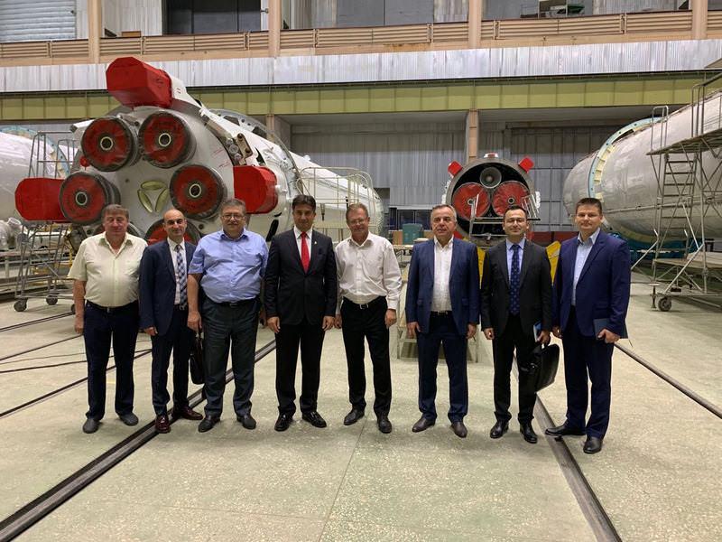 Kiev Büyükelçiliği Dnipro'da yetkili makamlar ve iş dünyası ile buluştu