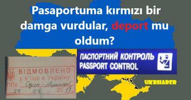 Ukrayna pasaport kontrol