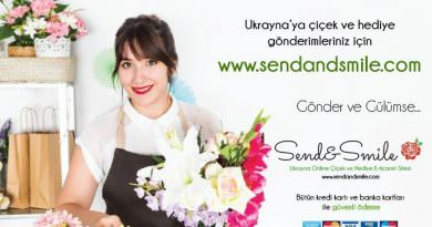 send and smile