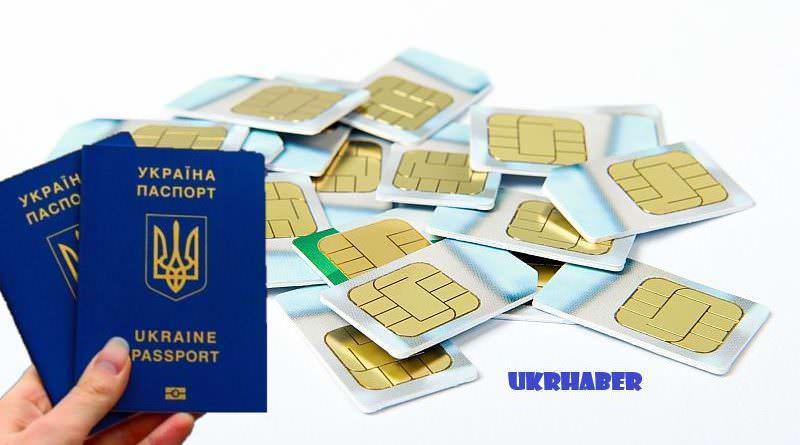 SBU başkanı, SIM kartların pasaport kaydı ile satılması fikrini destekledi.