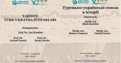 Tarihte Türk-Ukrayna ittifakları Kiev'de konuşulacak