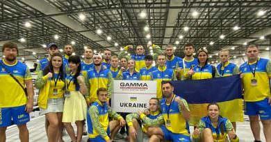 Ukrayna Karma Dövüş Sanatları Dünya Şampiyonasından 11 madalya ile döndü