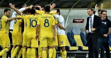 Ukrayna milli takımı son 10 maçını yenilgisiz olarak tamamladı