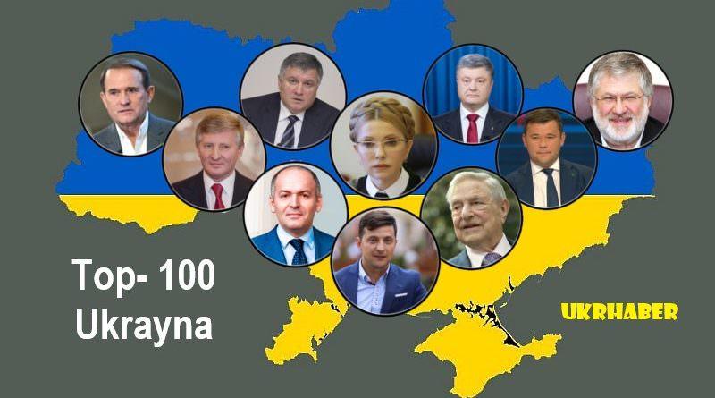 Ukrayna'nın en etkili 100 kişisi sıralandı. Top-10 ve etkileri.