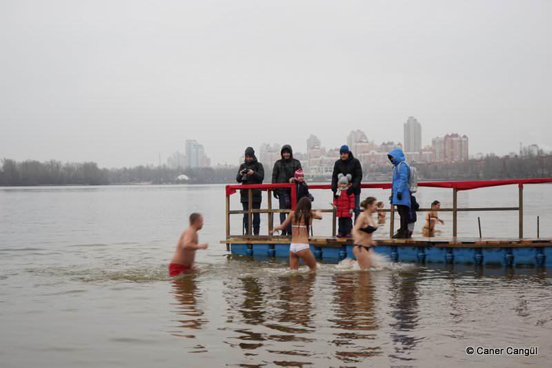 Kiev'de Epifani Kutlamaları