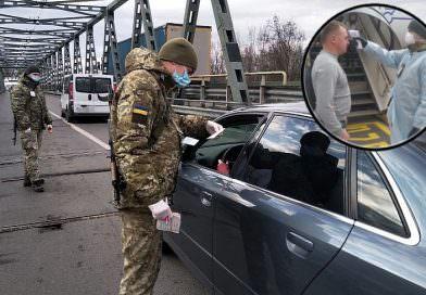Ukrayna'ya giren herkese koronavirüs nedeniyle ateş ölçümü