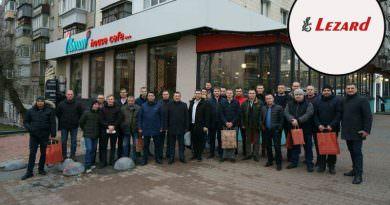 Lezard Ukrayna başarılı bayi satış temsilcilerini ödüllendirdi