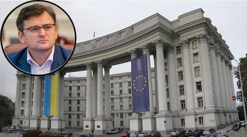 Ukrayna Dışişleri ve Bakanı Dmitriy Kuleba,
