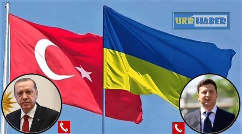 Erdoğan ve Zelenskiy telefon görüşmesi