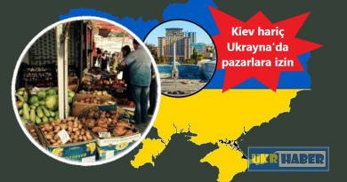 Ukrayna'da gıda pazarlarına izin çıktı, ancak Kiev'de yasak devam edecek (video)
