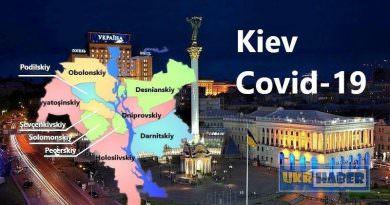 Kiev'de koronavirüs vakası 3'ü doktor 54 kişi daha arttı. Toplam 2,623 (24 Mayıs)