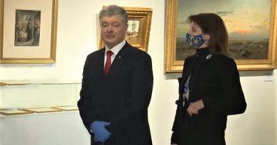 """""""Poroşenko'nun resimleri"""" nedeniyle Ivan Gonchar Müzesi'ne baskın yapıld"""
