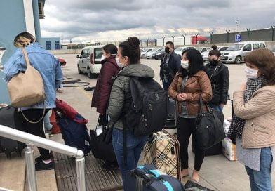 38 Ukraynalı daha Türkiye'den Odessa'ya feribotla gönderildi
