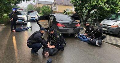 Brovary'de sokakta gruplar arasında silahlı çatışma