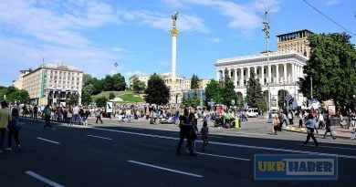 Kiev-Krışatik-Maydan