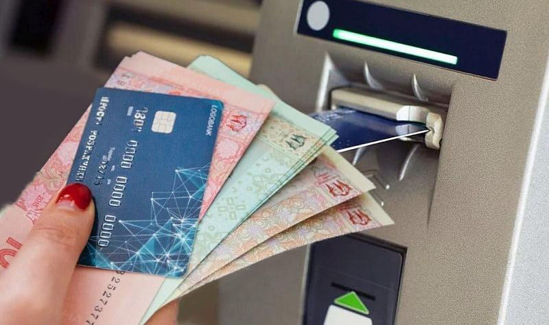 Para çekme ATM Ukrayna