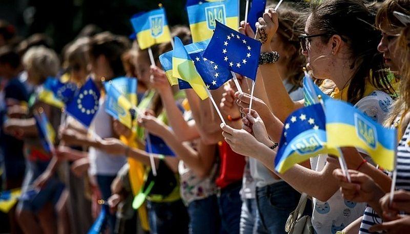 Ukrayna Avrupa Günü'nü kutluyor