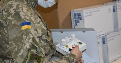 Ukrayna Silahlı Kuvvetleri'nde COVID-19 hasta sayısı üç günde iki katına çıktı