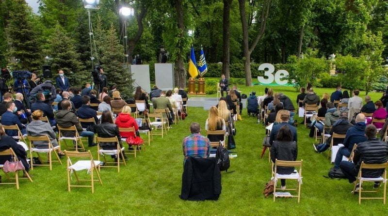 Vladimir Zelenskiy Toplantısı
