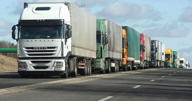 Ukrayna'da ağır tonajlı araçlar için yol ücreti getiren tasarı görüşülüyor