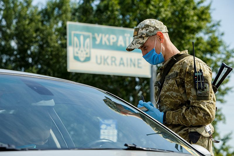 Sınır kontrol Ukrayna