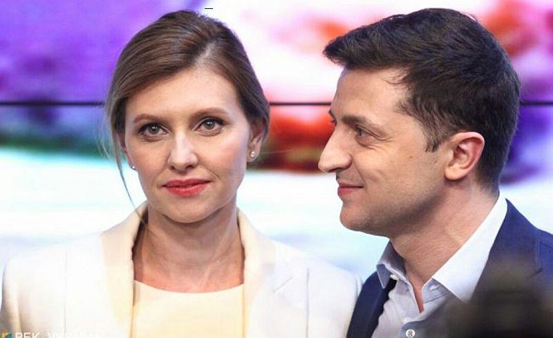 Vladimir Zelenskiy'nin eşi Yelena Zelenskaya'