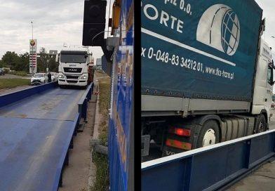Kiev'de aşırı yüklü tıra rekor ceza: 6.500 Euro