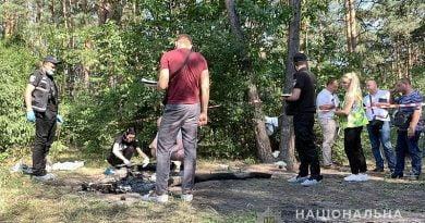 Kiev'de bir kadın, öldürdüğü adamın cesedinin parçalarını yakarken yakalandı