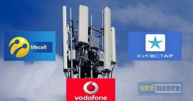 Lifecell de Kyivstar ve Vodafone