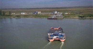 Orlovka- Isaccea feribot seferleri Ukrayna-Romanya arasında hizmet vermeye başladı