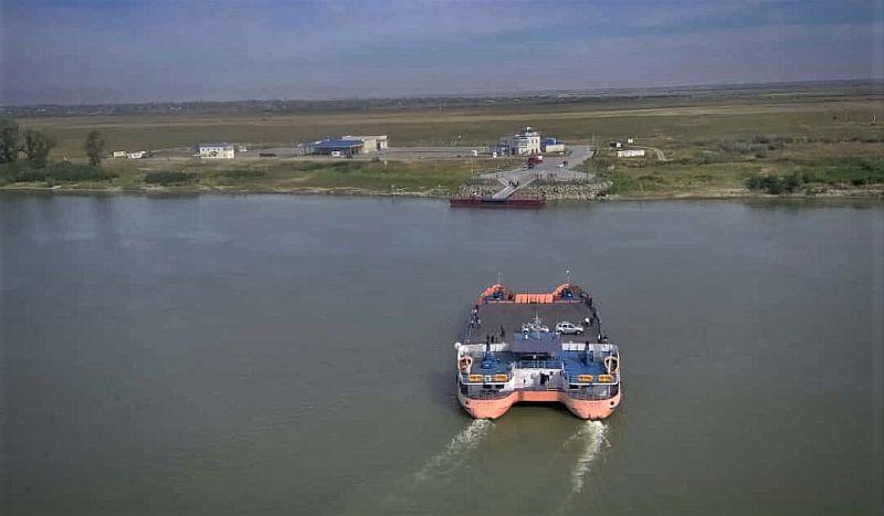 Orlovka- Isaccea feribot seferleri Ukrayna-Romanya
