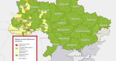 Ukrayna, COVID-19'un yayılma seviyesine göre 4 bölgeye ayrıldı ne anlama geliy