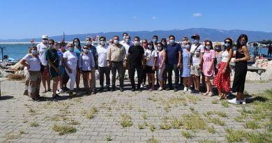 Ukraynalı tur operatörleri Burhaniye'de