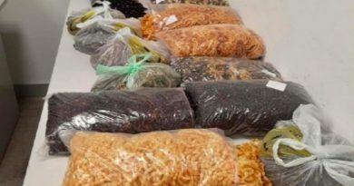 28 kg kehribar takıyı geçirmek isteyen Türk vatandaşı Borispol'de yakalandı