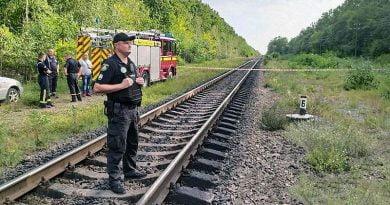 Belarus'tan gelen yakıt dolu treni Jitomir'de havaya uçurmaya çalıştılar
