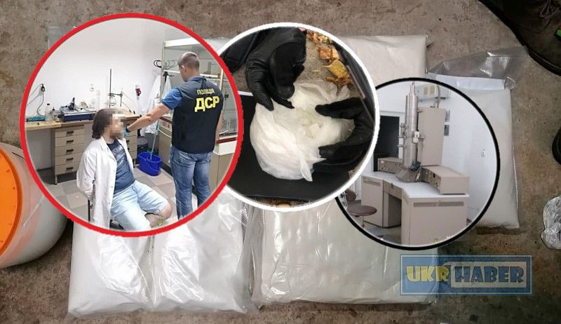 Lviv'de bir üniversitede polis uyuşturucu laboratuvarı buldu