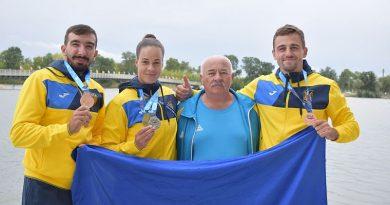 Ukrayna, Dünya Kürek Kupası'ndan sekiz madalya ile döndü