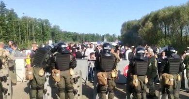 Ukrayna İçişleri Bakanlığı Hasidilere sınır açılmayacak