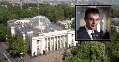 Ukrayna Parlamentosu Verkhovna Rada Finans, Vergi ve Gümrük Politikası Komitesi başkanı Danilo Getmantse