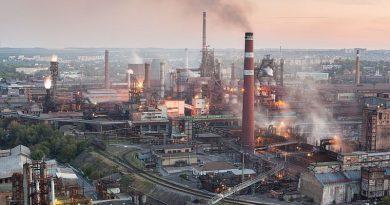 Ukrayna'da sanayi üretimindeki düşüş sürüyor. Ağustos'ta % 5.3 oldu.