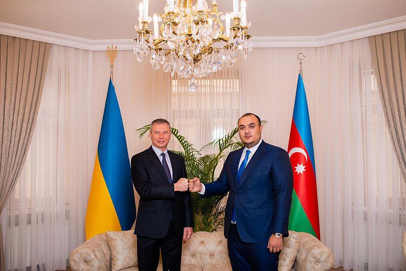 Azerbaycan'da Ukrayna'nın ilk fahri konsolosluğu açıldı