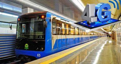 Kiev metrosunun tüm istasyonlarında 4G başladı, biri hariç!
