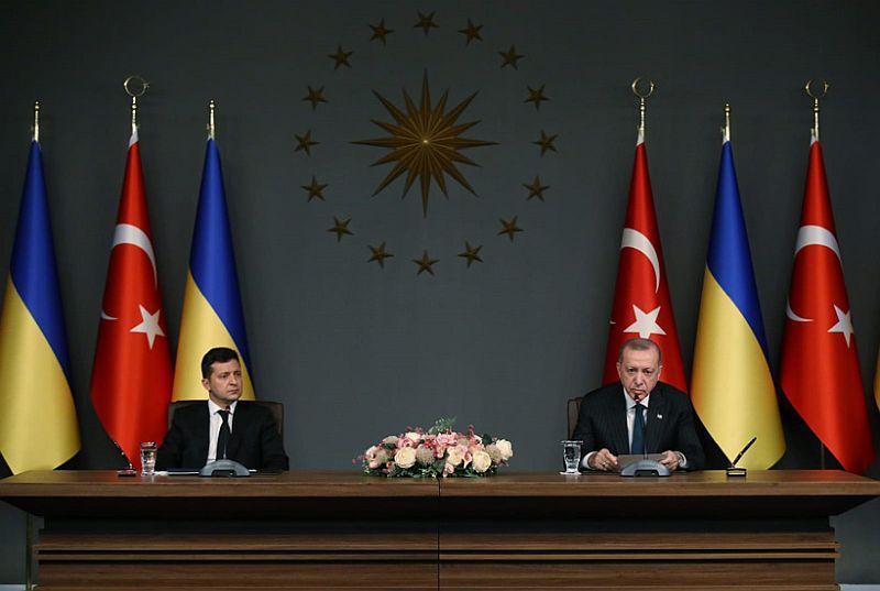 Recep Tayyip Erdoğan Vladimir Zelenskiy