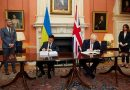 Tarihi an Ukrayna ve İngiltere stratejik işbirliği anlaşması imzaladı
