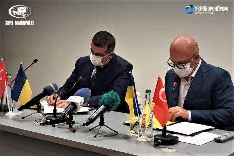 Türkiye ile Ukrayna arasında gaz türbinli motor üretimi konusunda mutabakat imzalandı