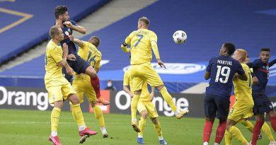 Ukrayna milli futbol takımı 7 gol yiyerek tarihi bir yenilgi yaşadı